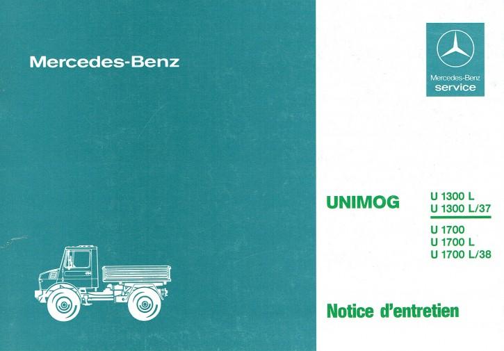 Notice d'entretien Unimog 435 - 30 403 51 45-02 - 324031011