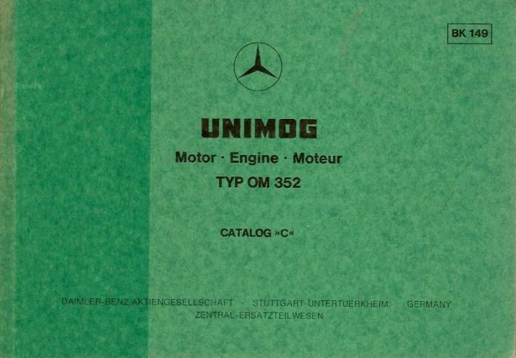 Bildkatalog Motor OM 352 - 1490 - Original - 404001039