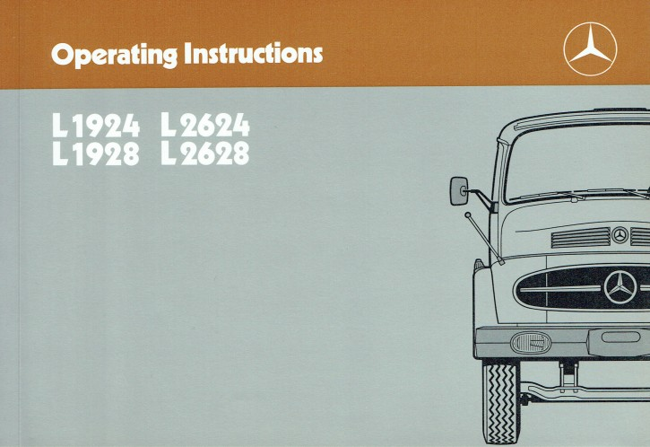 Operatin Instructions Trucks L 1924 1928 2624 2628 - 6550 6454 02 Original - 314021046