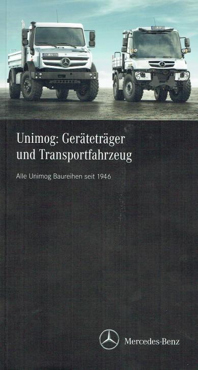 Unimog : Geräteträger und Transportfahrzeug - 304001042