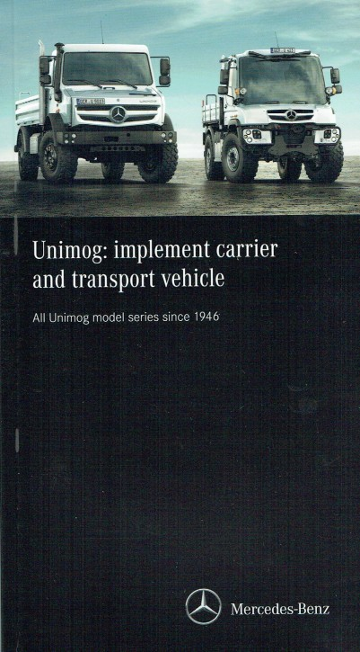 Unimog: implement carrier and transport vehicle - 314021028
