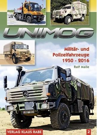 Buch: UNIMOG - Militär- und Polizeifahrzeuge, Band 2 - 604001045