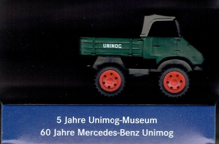"""WIKING-Sondermodell """"5 Jahre Unimog-Museum 2011"""" - 704001019"""