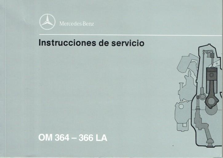 BA: Istruzioni per uso e manutenzione Motori industriale OM 364 - 366 LA - 6160 1303 06 - 8.1993  Originale - 334051017