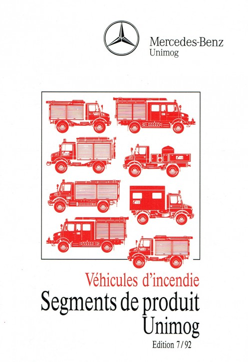 Segments de produit Unimog 7/92 - Original - 324031025