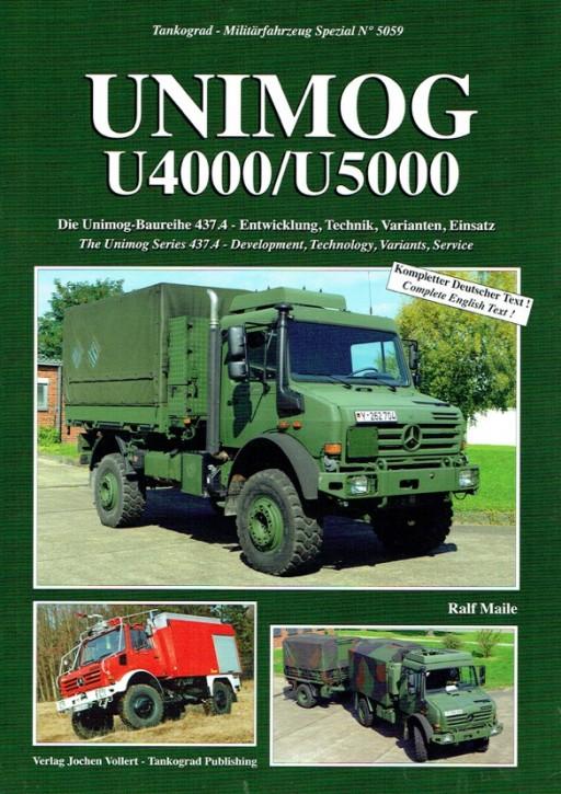 Buch: Sonderheft Unimog U4000/U5000 in der Bundeswehr -  604001046
