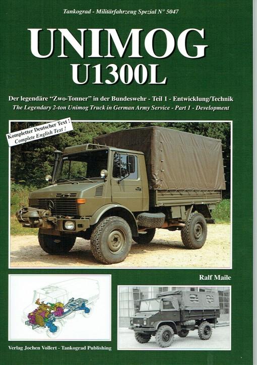 Buch: Sonderheft Unimog U 1300 L in der Bundeswehr - Heft 1 - 604001007