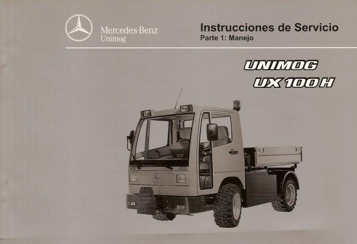 Instrucciones de servicio Unimog UX 100 H Parte 1 - 6518 5036 04 Original - 344041014
