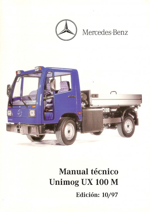Manual técnico Unimog UX 100 M ES Original - 344041018
