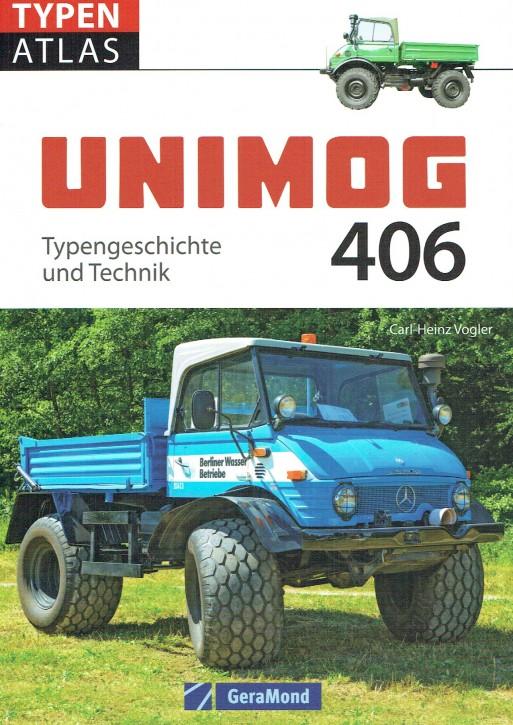 Buch: Unimog 406 - Typengeschichte und Technik - 604001047