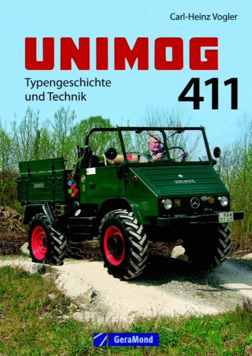 Buch: Unimog 411 - Typengeschichte und Technik - 604001003