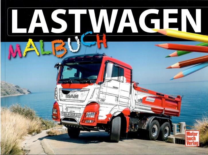 Buch: Lastwagen Malbuch - 829000017