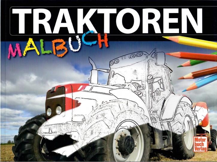 Buch: Traktoren Malbuch