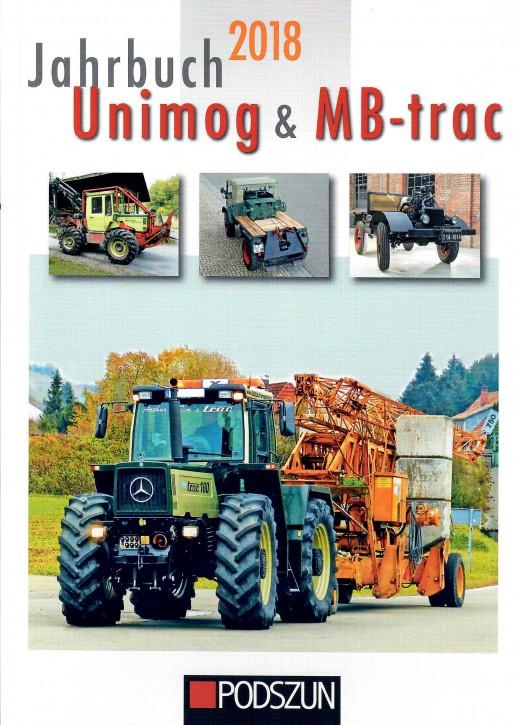 Buch: Jahrbuch Unimog und MB-trac 2018 - 604001020