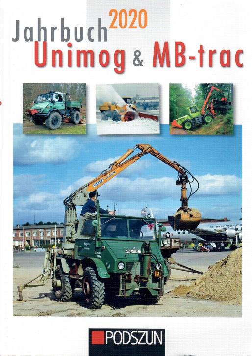 Buch: Jahrbuch Unimog & MB-trac 2020