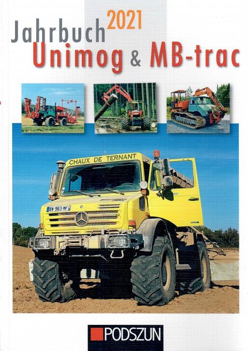 Buch: Jahrbuch Unimog & MB-trac 2021 604001060