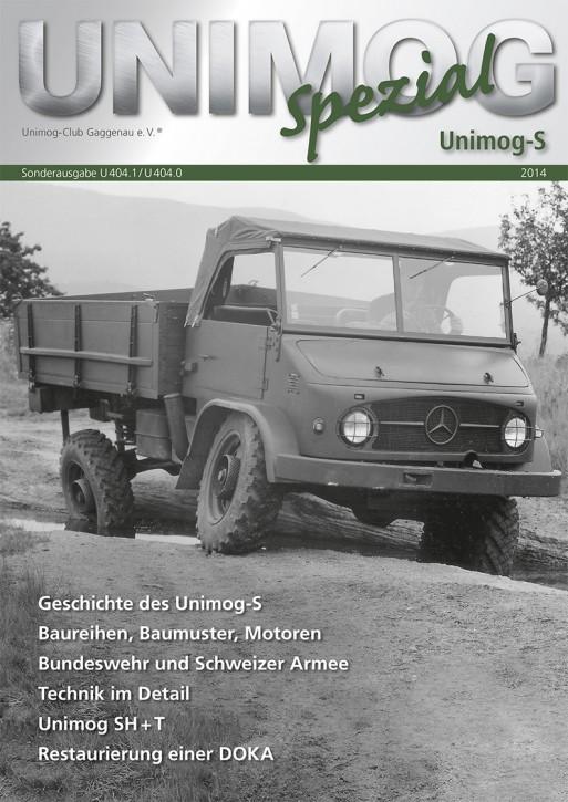 Buch: Unimog Spezial 404 S - 604001037