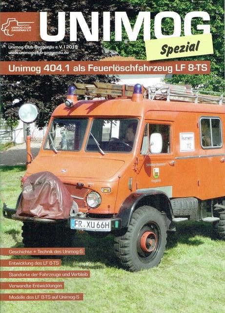 Buch: Unimog Spezial 404.1 als Feuerlöschfahrzeug LF 8-TS 604001058