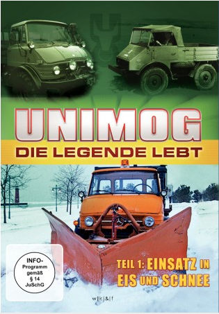 DVD: Unimog - Die Legende lebt - Teil 1 - 655000005