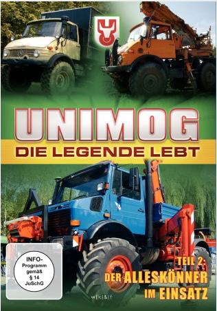 DVD: Unimog - Die Legende lebt - Teil 2 - 655000006