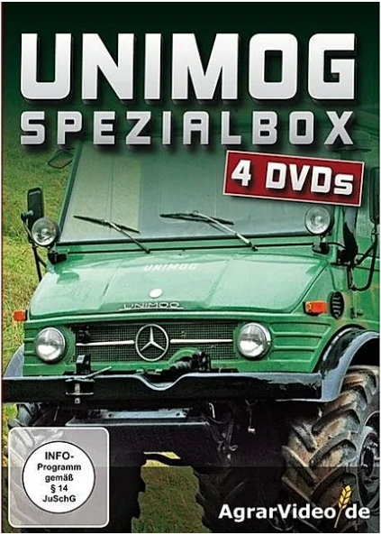 DVD: Unimog Spezialbox 4 DVDs - 655000007