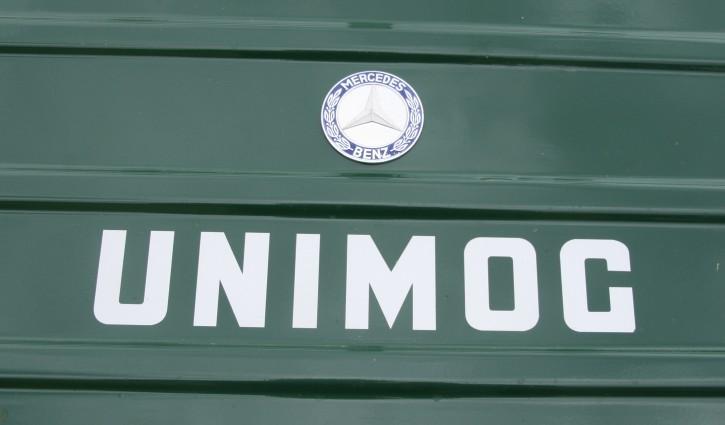UNIMOG-Schriftzug zum Aufkleben - silber - 904001010