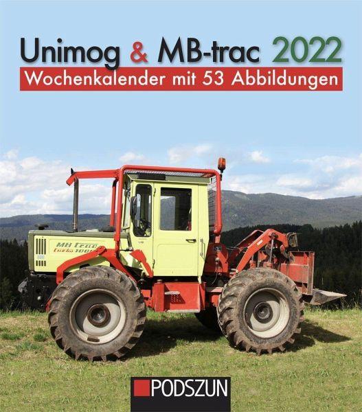 Wochenkalender Unimog & MB-trac 2022 - 654001012