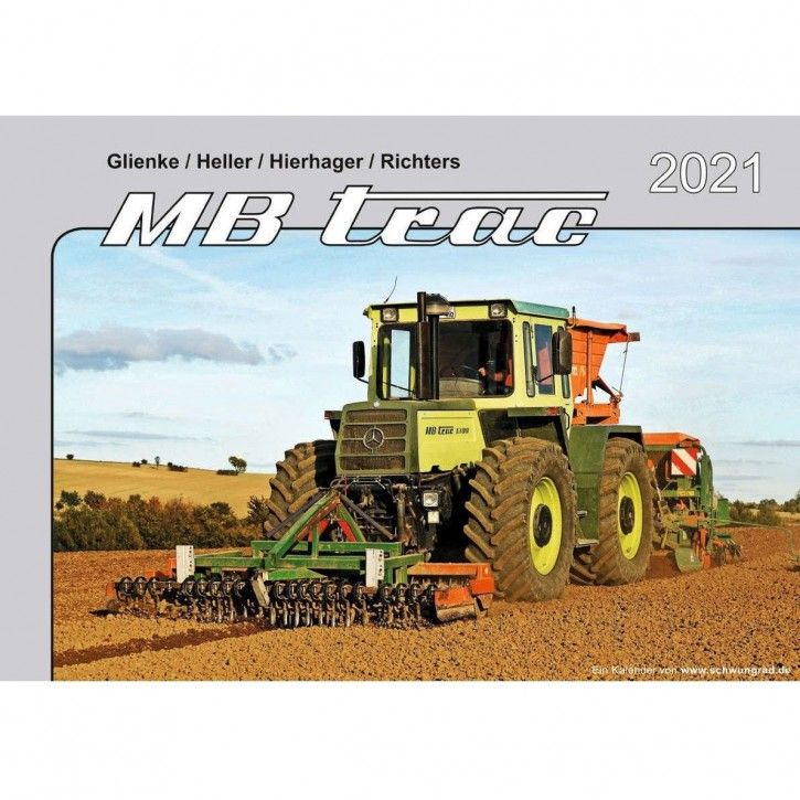 Kalender MB-trac 2021 654001011