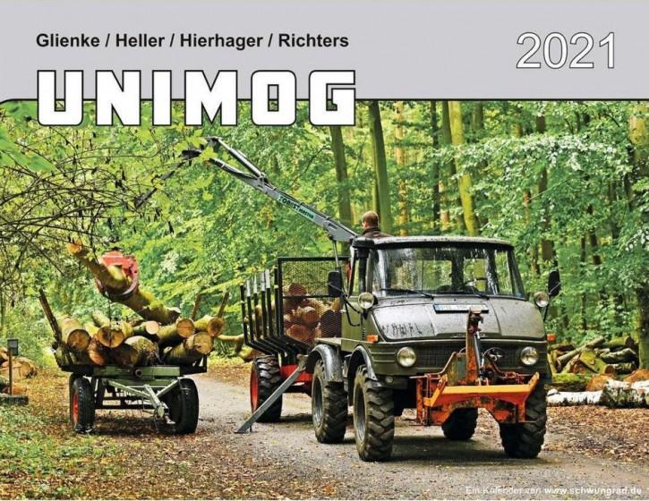 Kalender Unimog 2021 654001010