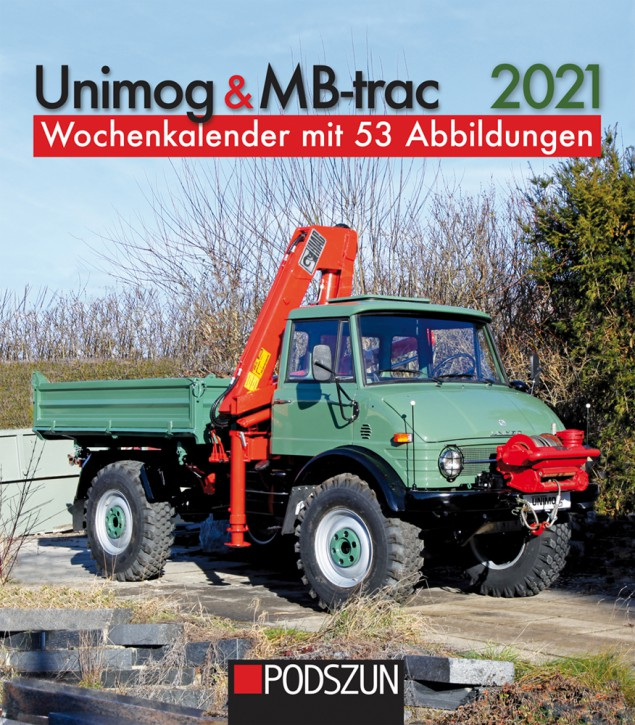Wochenkalender Unimog & MB-trac 2021 - 654001009
