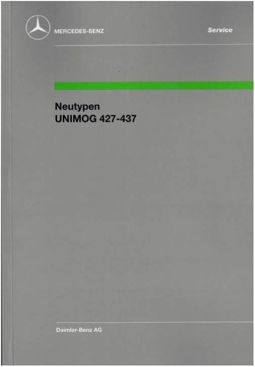 Neutypen Unimog 427 437 -   30 400 11 09  364001030