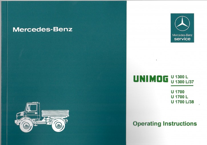 Instruction Manual Unimog 435 - 30 402 51 45 03 - 314021016   wieder erhältlich
