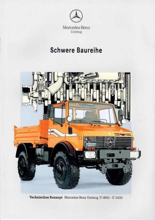 Prospekt 267 - Schwere Baureihe Technisches Konzept U 1800 bis U 2450 - 606000267