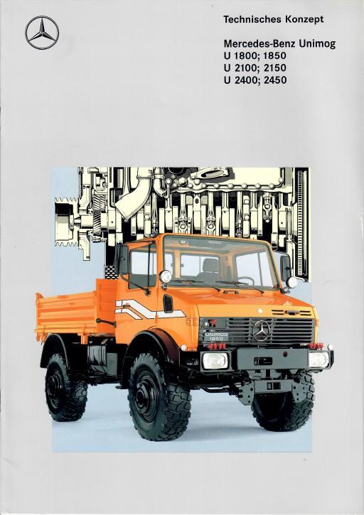Prospekt 300 - Technisches Konzept U 1800; 1850, U 2100; 2150, U 2400; 2450 - 606000300