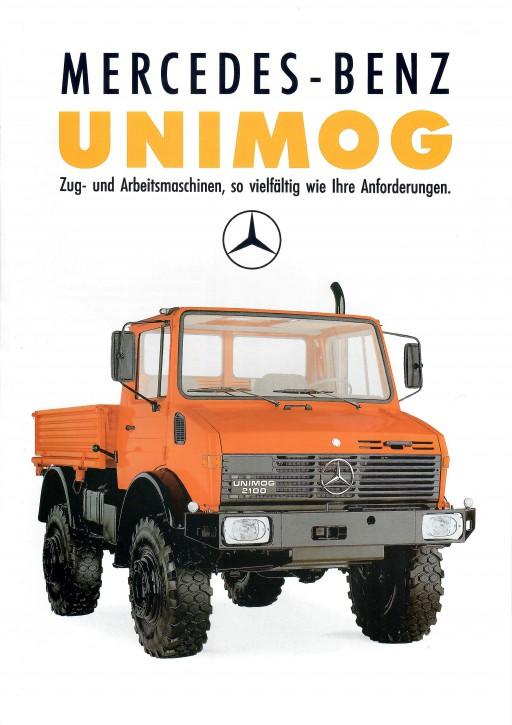 Prospekt 301 - Mercedes-Benz Unimog Zug- und Arbeitsmaschinen, so vielfältig wie Ihre Anforderungen - 606000301