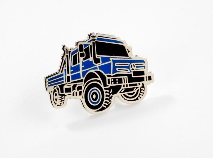 Pin Unimog UHE blau