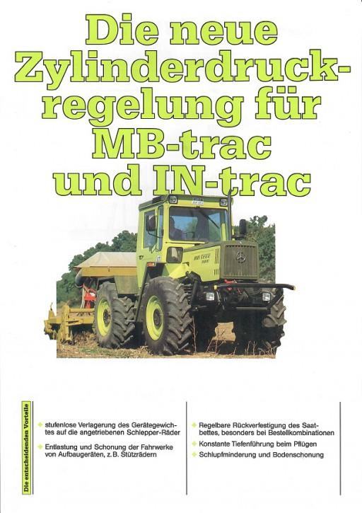 Prospekt 011 Die neue Zylinderdruckregelung für MB-trac und IN-trac - 606000011