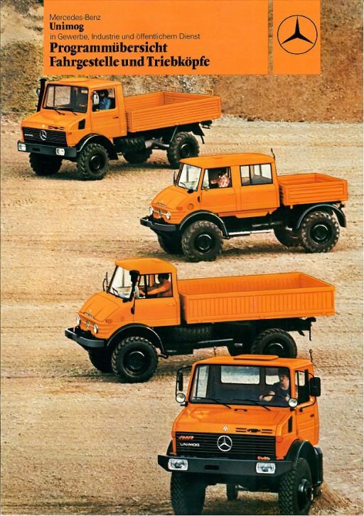 Prospekt 201 Programmübersicht Fahrgestelle und Triebköpfe für Gewerbe und Industrie - 606000201