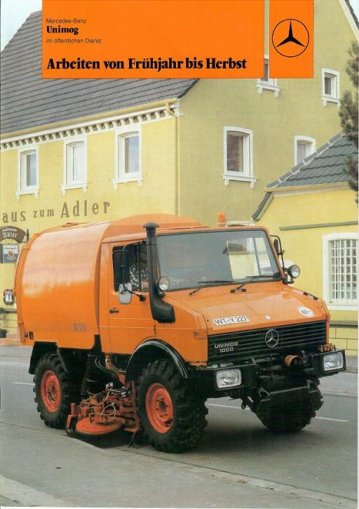Prospekt 206 Arbeiten von Frühjahr bis Herbst, Unimog im Öffentlichen Dienst - 606000206