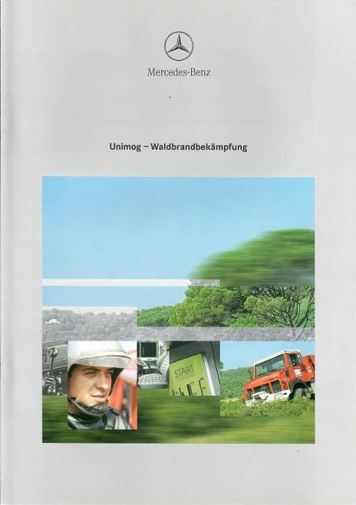 Prospekt 220 Unimog Waldbrandbekämpfung - 606000220