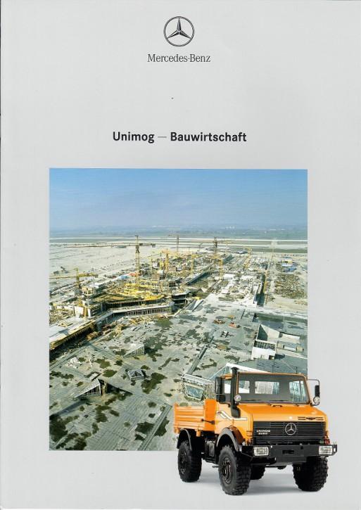 Prospekt 223 Unimog Bauwirtschaft - 606000223