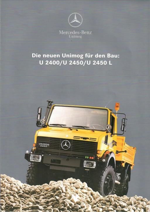 Prospekt 226 Die Neuen Unimog für den Bau U 2400/U 2450/U 2450 L - 606000226