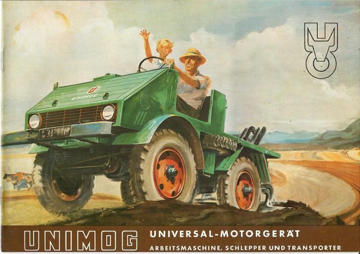 Prospekt 229 Universal-Motorgerät. Arbeitsmaschine, Schlepper und Transporter - 606000229