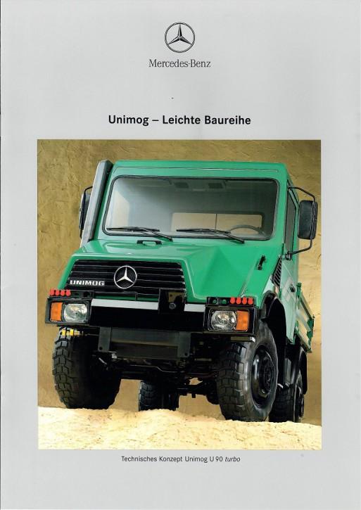 Prospekt 230 Unimog leichte Baureihe U90 Turbo - 606000230