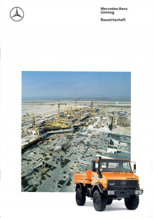 Prospekt 273 Unimog-Prospekt Bauwirtschaft 1 - 606000273