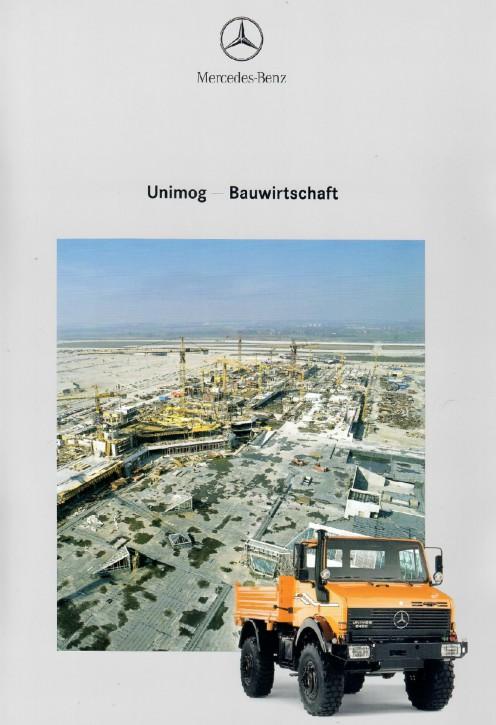 Prospekt 274 Unimog-Prospekt Bauwirtschaft 2 - 606000274