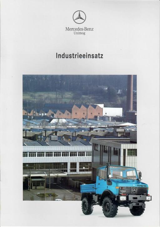 Prospekt 275 Unimog-Prospekt Industrieeinsatz 1 - 606000275