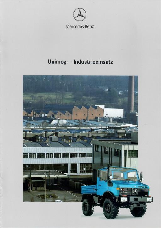 Prospekt 276 Unimog-Prospekt Industrieeinsatz 2 - 606000276
