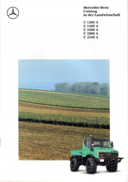Prospekt 288 Der Unimog in der Landwirtschaft - 606000288