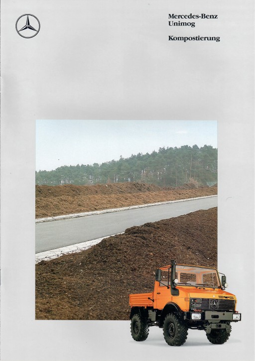 Prospekt 289 Unimog-Prospekt Kompostierung - 606000289